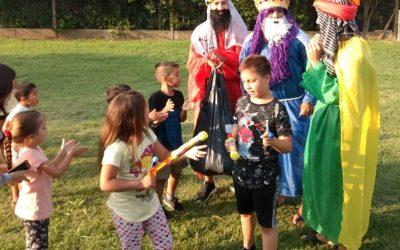Llegaron Papá Noel y los Reyes Magos